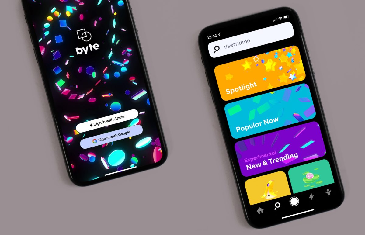 byte app due smartphone copertina e categorie app